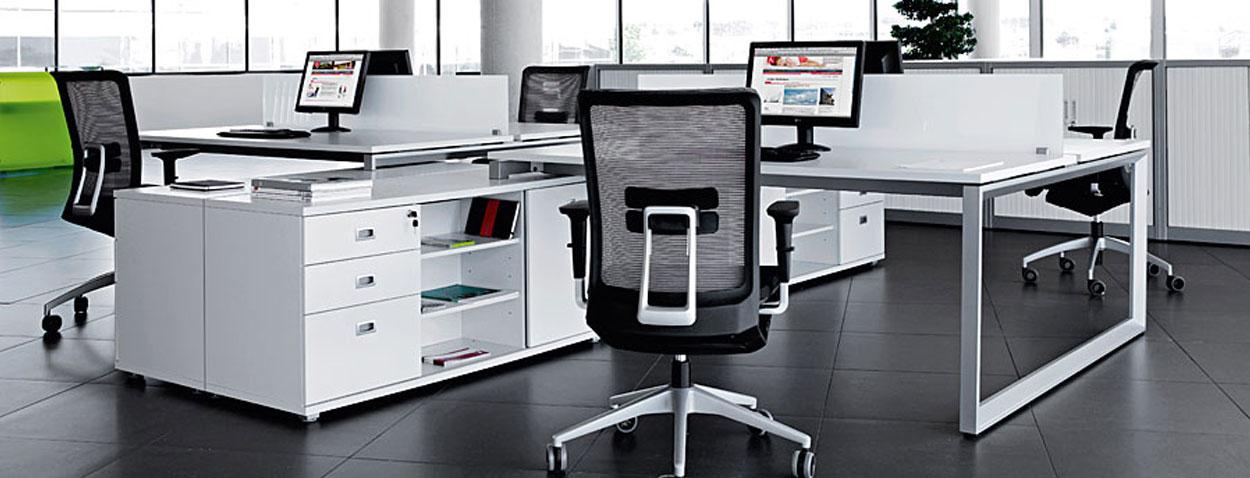 Organitec mobiliario europeo de oficina for Muebles modernos para oficinas pequenas